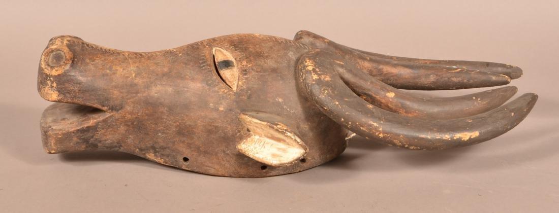 Three Antique/Vintage African Carved Wood Tribal Animal - 9