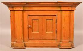 Antique Pennsylvania Softwood Architectural Hanging