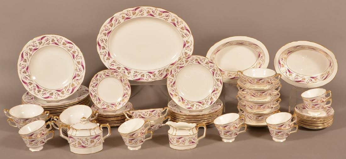 Royal Crown Derby Bone China Princess Pattern 67 Piece