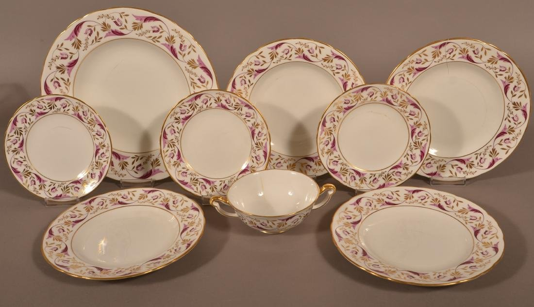 Royal Crown Derby Bone China Princess Pattern 67 Piece - 3