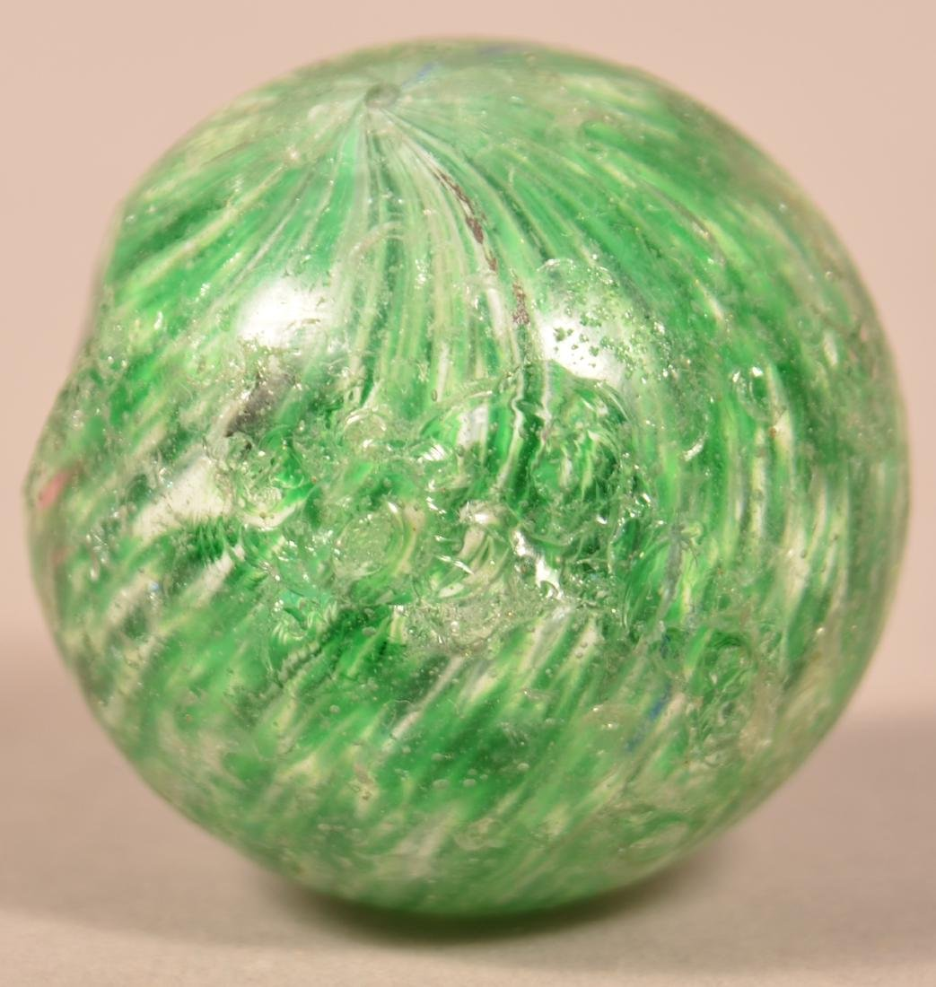 Lot of Various Antique and Vintage Marbles. Largest - 3