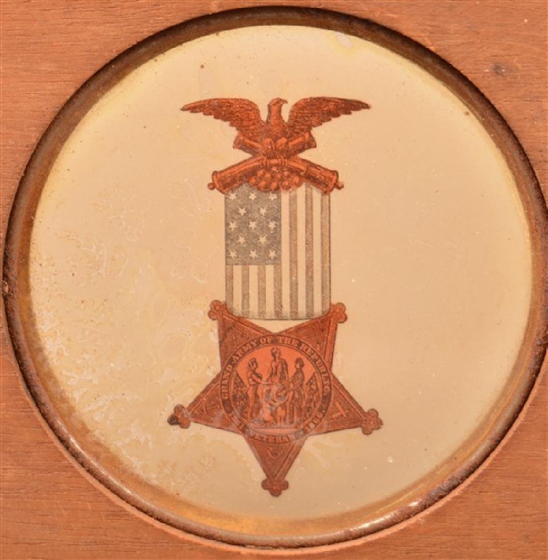 Five P.O.S. of A. and Grand Army Republic Magic Lantern - 6