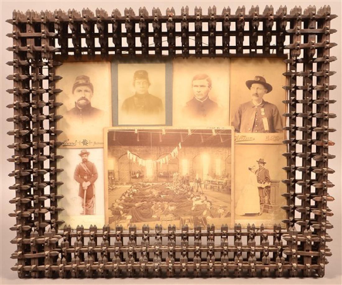 Seven Carte de Visite Images of Civil War and Late 19th