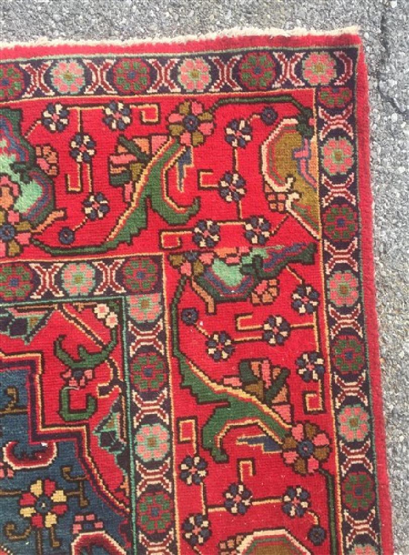 "Antique/Vintage Persian Tabriz Room Size Rug. 9'6"" x - 3"