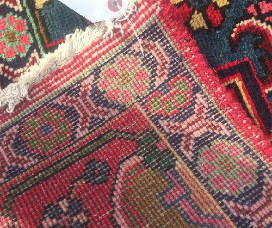 "Antique/Vintage Persian Tabriz Room Size Rug. 9'6"" x - 5"
