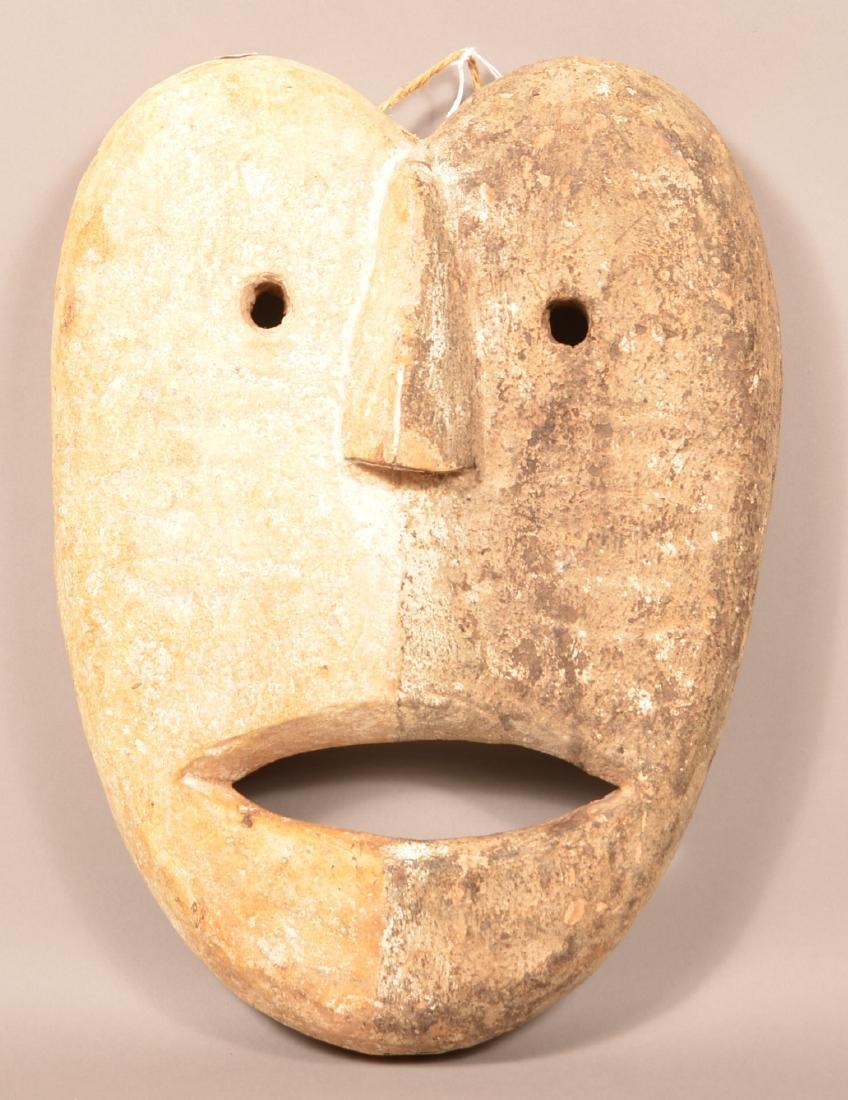 Large Wood Face Mask