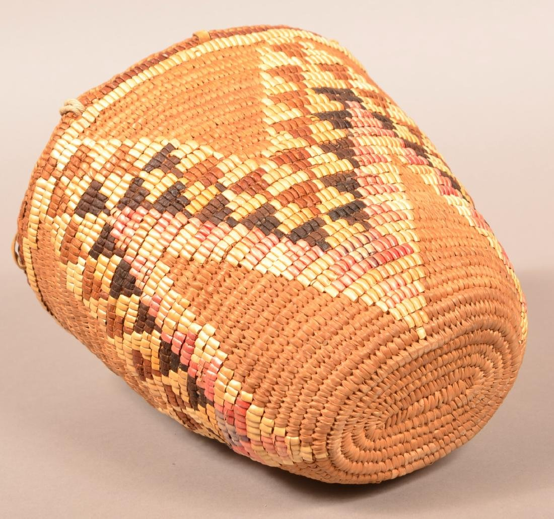 Coiled and Imbricated Basket from the Cascade Region - 2