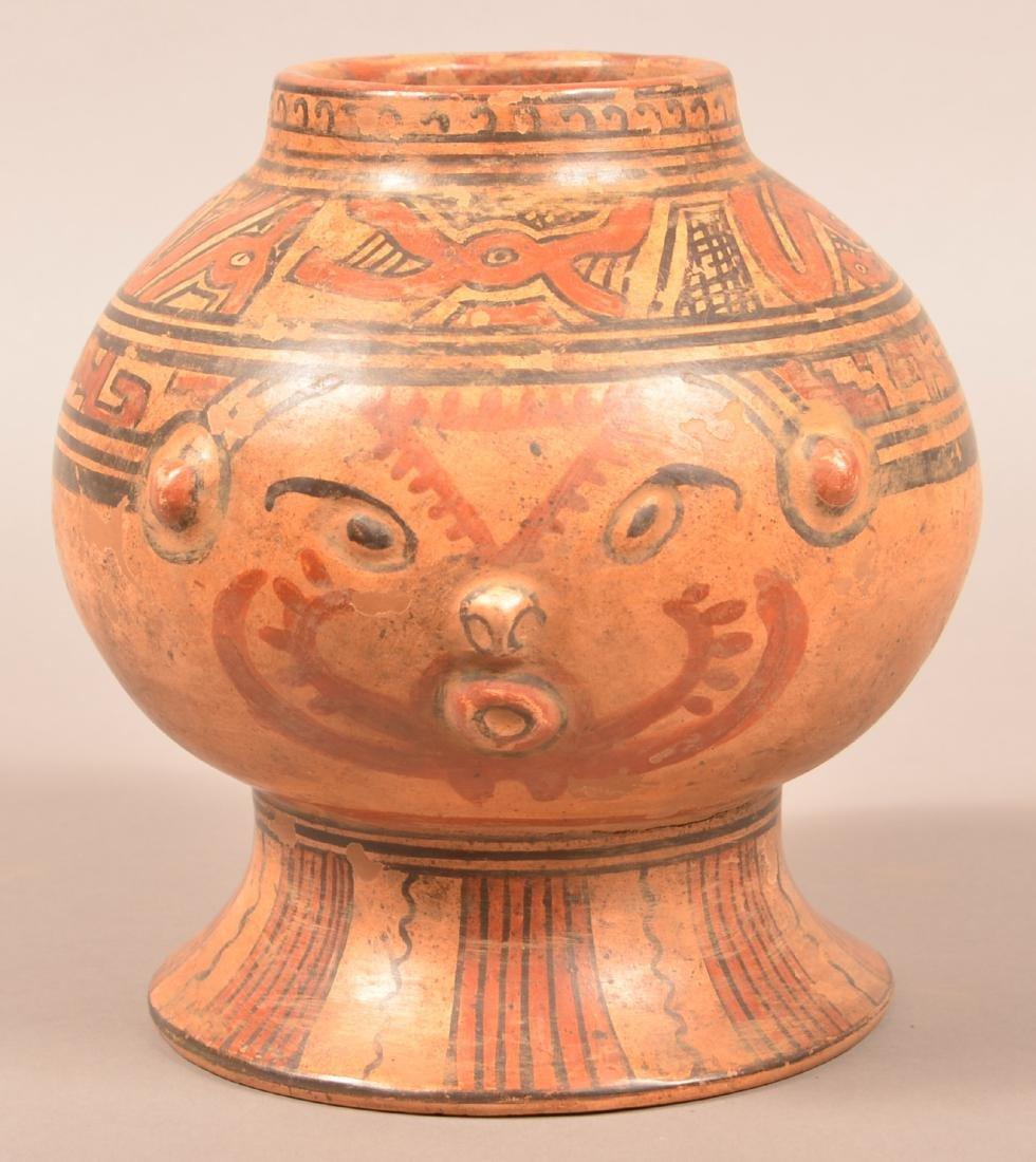 "Contemporary Costa Rican ""Head Pot"""