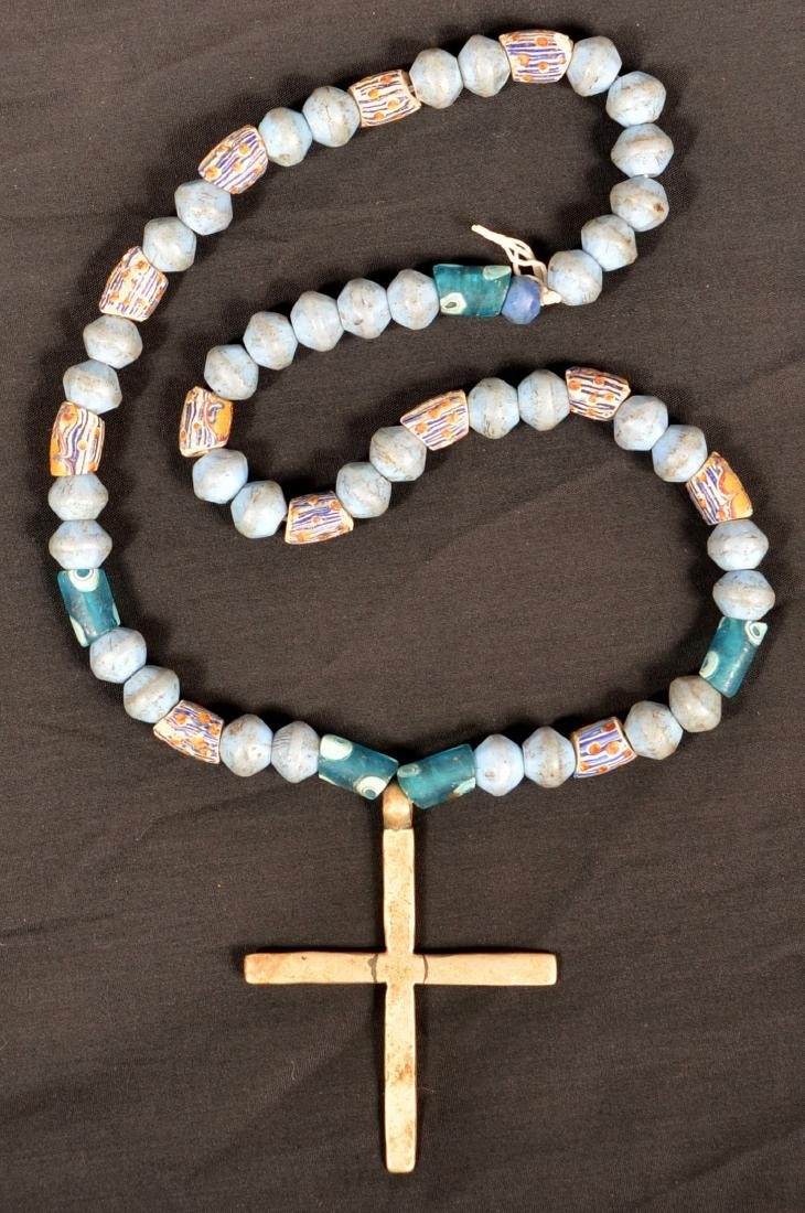 Necklace of Antique Glass Trade Beads