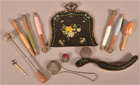 Antique Sewing items and Utilitarian Wares