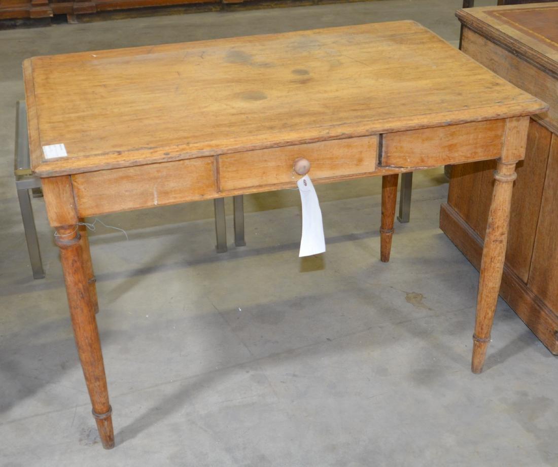Tapered Leg Writing Desk