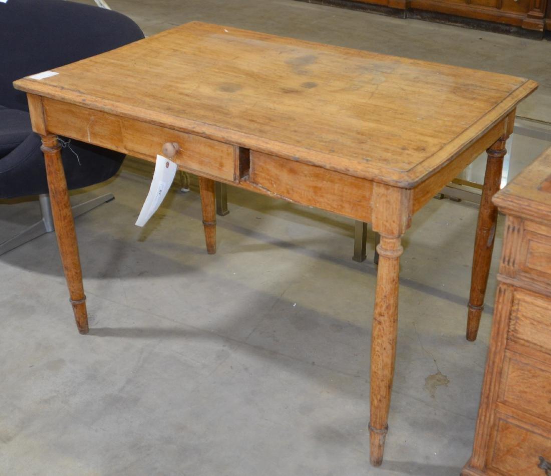 Tapered Leg Writing Desk - 2
