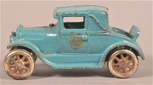 Arcade Cast Iron Ford Coupe.