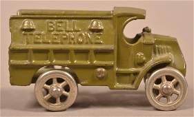 Hubley Bell Telephone Open Service Truck