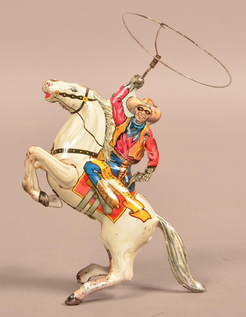 Marx Lone Ranger Tin Lithograph Wind-up Toy.