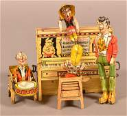 Lil Abner Dogpatch Band Tin Litho WindUp Toy