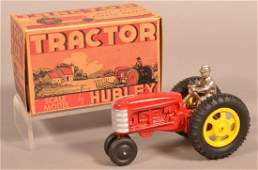 Hubley Scale Model Tractor No 473 with Box