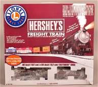 Lionel 0Gauge Hersheys Freight Train Set