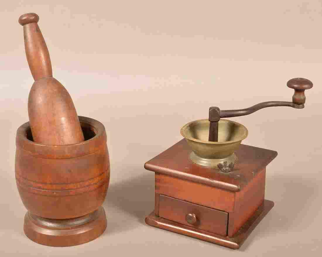 19th Century Wooden Utilitarian Wares.