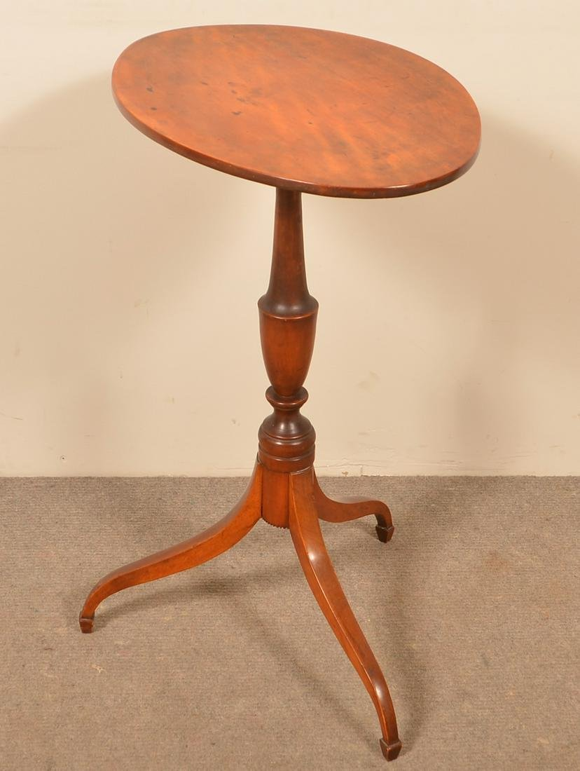New England Federal Maple Candlestand.