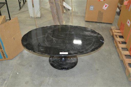 Mid Century Modern Style Oval Black Coffee Table Aug 10 2019