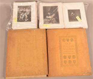 Lot Signed Engravings & Prints by Timothy Cole.