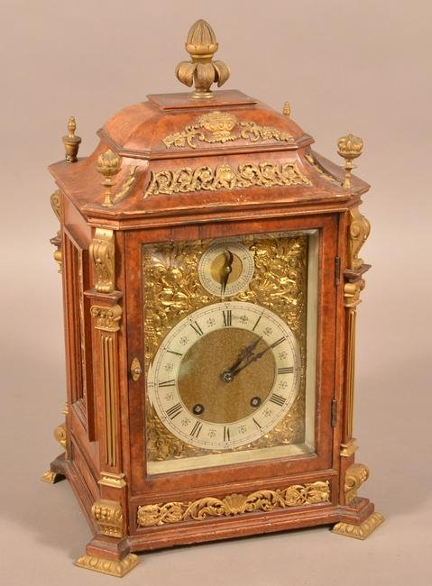 Late 19th Century Lenzkirch Bracket Clock.