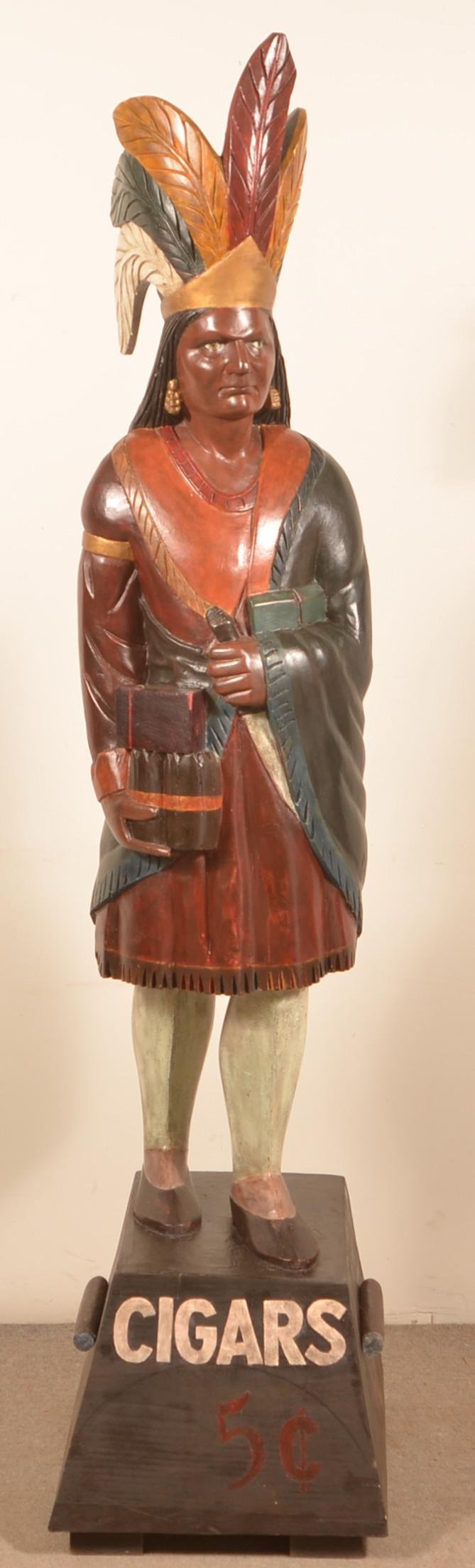 20th Century Cigar Store Indian.