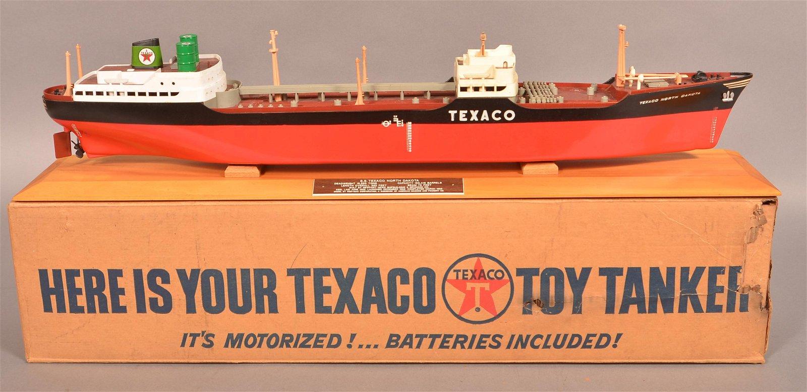 AMF Wen-Mac Texaco North Dakota Tanker Ship Toy.