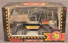 Tonka Silver Edition Commemorative Dump Truck.