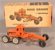 Hubley Diecast 503 Road Grader in Original Box