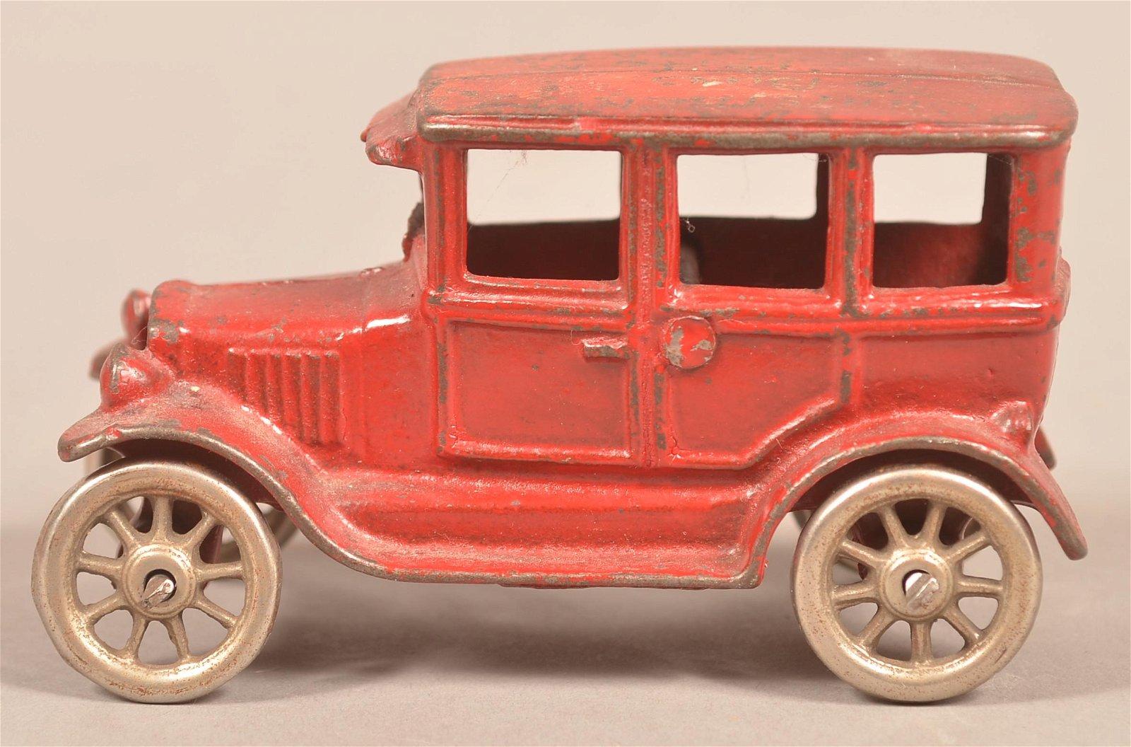 Arcade Cast Iron Model T Sedan.