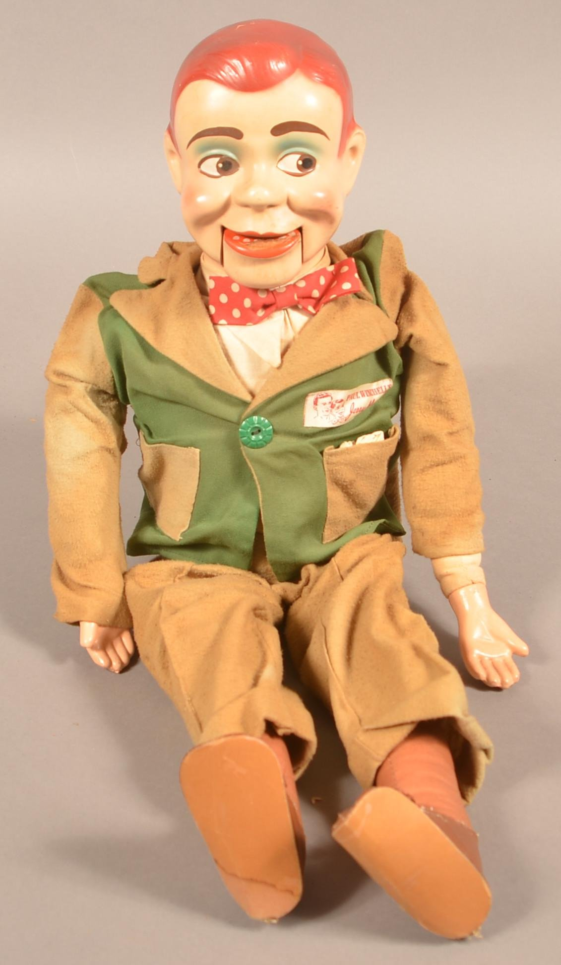 Vintage Jerry Mahoney Ventriloquist Doll.
