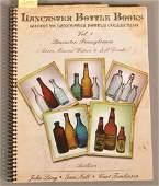 Lancaster PA Bottle Collecting Vol I Signed