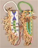 2 Contemporary Plains Indian Style Sheaths