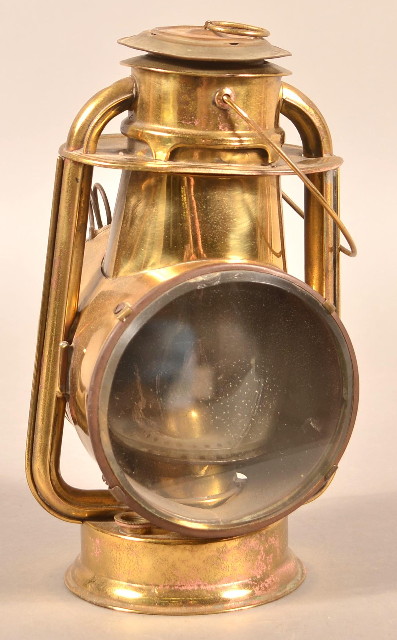 C.T. Ham & Co. Brass Lantern.