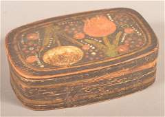 Fine Lancaster County PA Painted Spice Box