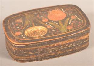 Fine Lancaster County, PA Painted Spice Box.