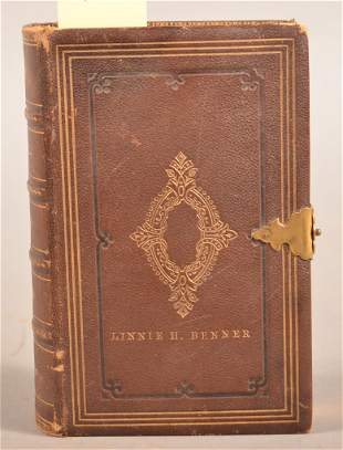 Ca 1860 Book of Common Prayer Nice Binding
