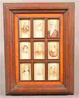 Nine 19th Century Philadelphia, PA Studios Framed