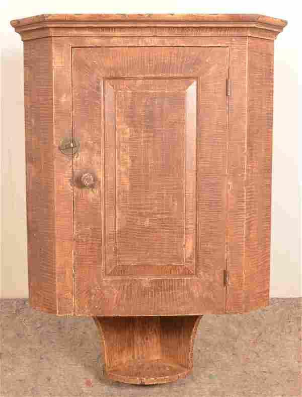 Hanging Corner Cupboard by Adam Matthews, 1998.