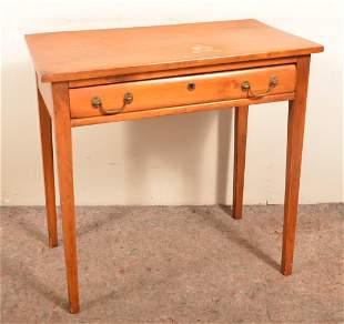 American Hepplewhite Pine Work Table.
