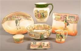 """Royal Doulton """"Dickens-Ware"""" Tableware China."""