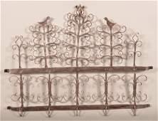 19th Century Wrought Iron Game Rack.
