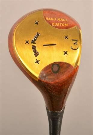 Toney Pena Handmade Custom Persimmon 3 Wood