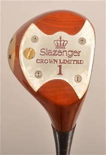 Slazenger Persimmon Golf Driver