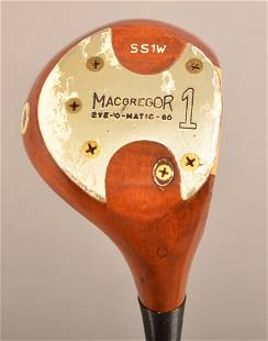 MacGregor Tommy Armour SS1W Persimmon Driver