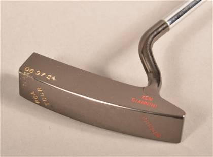 Rare Handmade Ken Giannini PGA Tour Putter