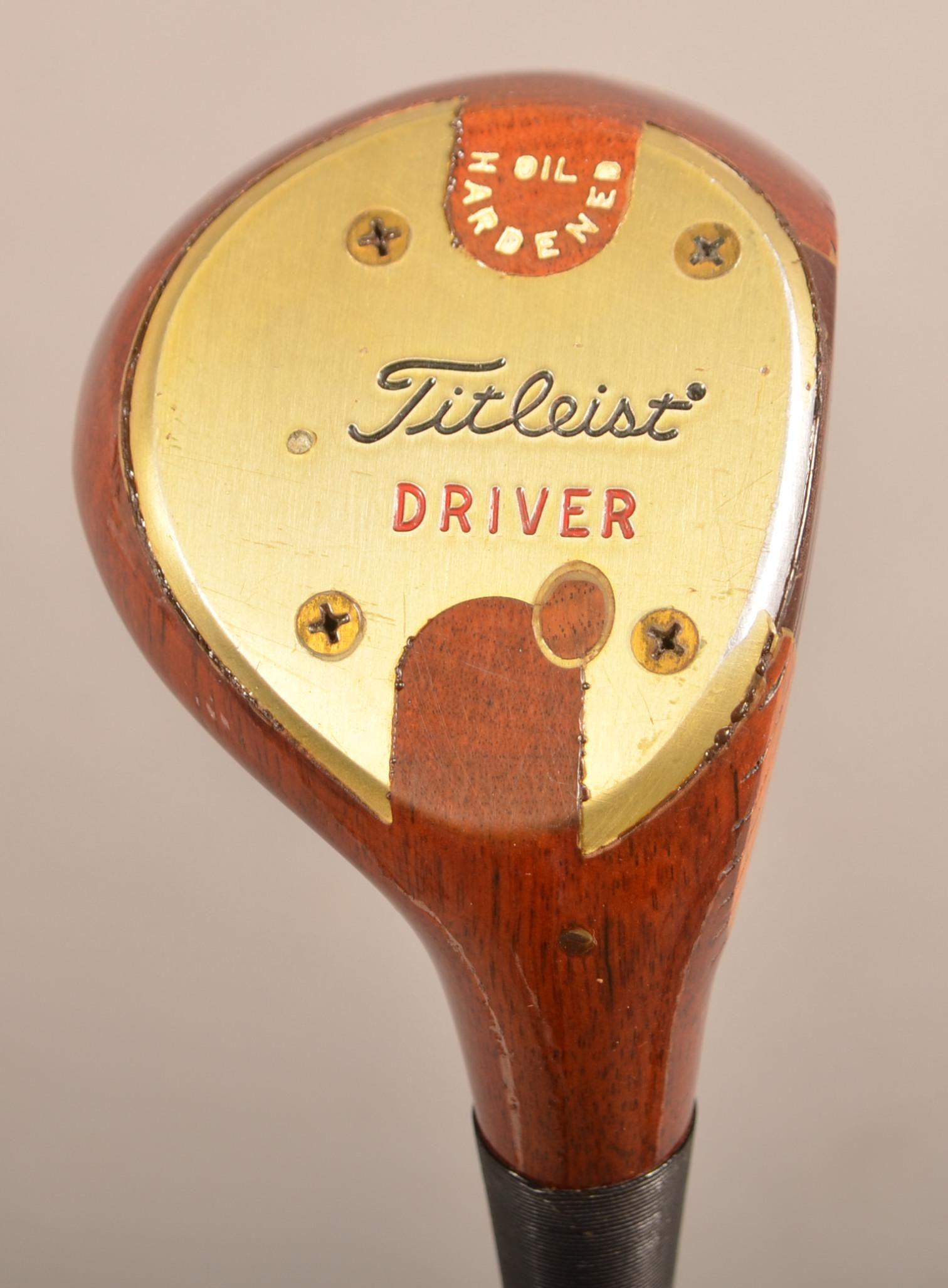 Titleist Tour Model Persimmon Driver