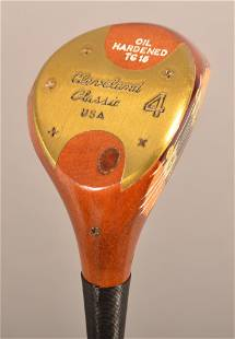 Cleveland Classic Persimmon 4 Wood TG 15 Driver